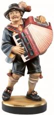 5061 Musikant mit Ziehharmonika
