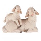 4559 Schafgruppe liegend
