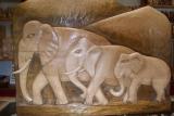 Elefanten Relief
